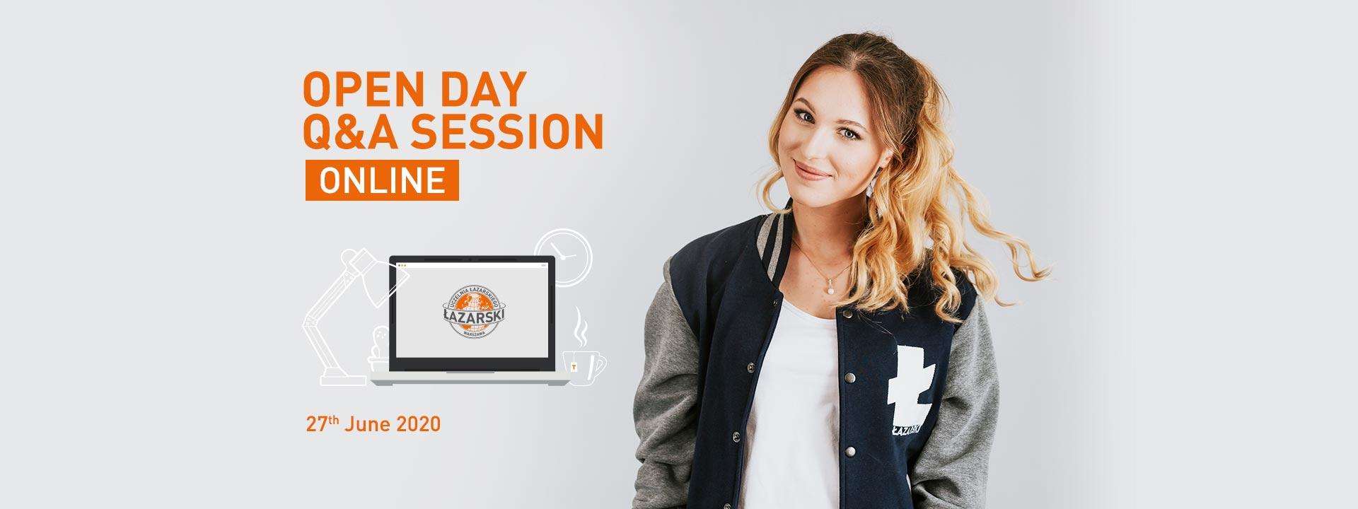 Uczelnia Łazarskiego - Dzień otwarty online 25 kwietnia 2020
